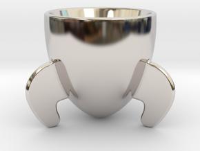 Rocket Espresso Cup in Platinum
