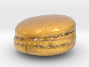 The Coffee Macaron-mini in Glossy Full Color Sandstone