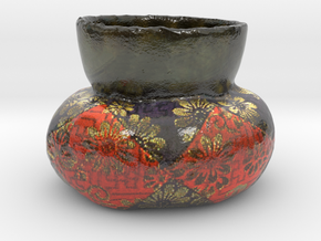 The Bell for Buddhism in Glossy Full Color Sandstone