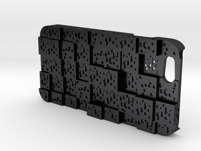 Iphone6 Minecraft Ore Case in Polished and Bronzed Black Steel