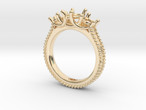 DeniseShapeways in 14k Gold Plated