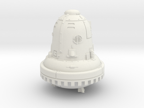 28mm/32mm The Bell (Die Glocke) in White Natural Versatile Plastic