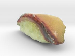 The Sushi of Hamachi in Glossy Full Color Sandstone