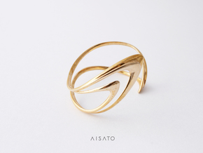 Loop Bracelet  in Polished Bronze