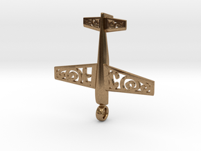 Stickxtra Pendant Flying Circus Special 50mm in Natural Brass