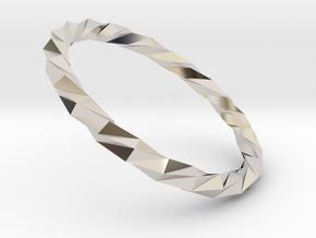 Twistium - Bracelet P=220mm Color in Platinum