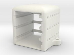 OSD Rackmount in White Natural Versatile Plastic