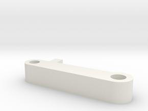 Vsr Flat Nubv2 in White Natural Versatile Plastic