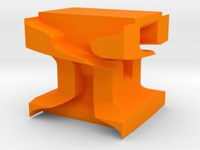 The H in Orange Processed Versatile Plastic