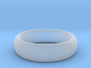 Plain Ring v1 Size11-7mm-3.2 in Smooth Fine Detail Plastic