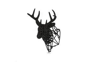 Deer (sculpture) in Black Strong & Flexible