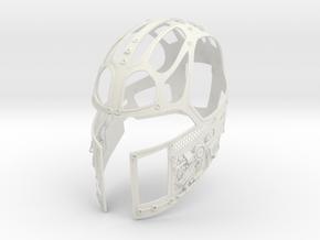 J6-9-Skeleton in White Natural Versatile Plastic