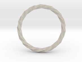 Twistium - Bracelet P=230mm in Natural Sandstone