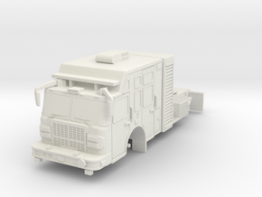1/64 USAR or Hazmat Tractor in White Strong & Flexible