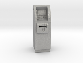 SlimCash 200 ATM, O-scale / Dollhouse 1:48 scale in Aluminum