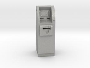 SlimCash 200 ATM, O-scale / Dollhouse 1:48 scale in Aluminum