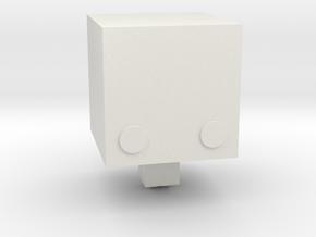 DIY Figurine in White Natural Versatile Plastic