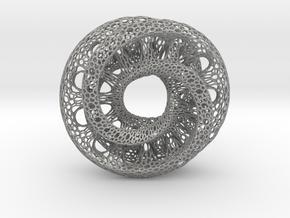 Mobius Tori in Aluminum