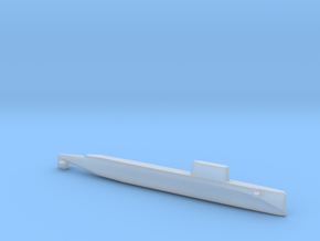 USS Triton (1962), Full Hull, 1/2400 in Smooth Fine Detail Plastic