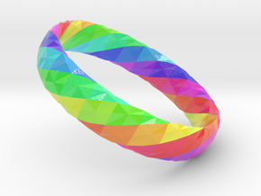 Twistium - Bracelet P=160mm h15 Color in Glossy Full Color Sandstone