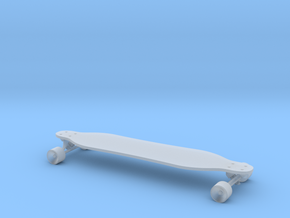 Mini Longboard in Smooth Fine Detail Plastic