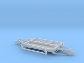 05B-LRV - Forward Platform Turning Left in Smooth Fine Detail Plastic