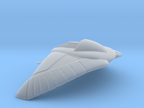 Stargate SG1 - Deathglider [120mm & Hollow] in Smooth Fine Detail Plastic