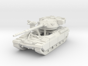 MG144-UK03 Chieftain Mk 3 in White Natural Versatile Plastic