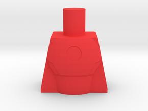 Arc Reactor Suit Chest Piece in Red Processed Versatile Plastic
