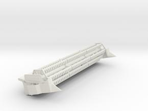 N24 Ft  flex in White Natural Versatile Plastic