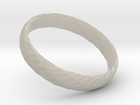Twistium - Bracelet P=170mm h15 in Natural Sandstone