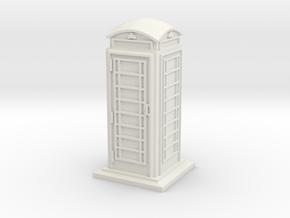 28/32mm Phone Box in White Natural Versatile Plastic