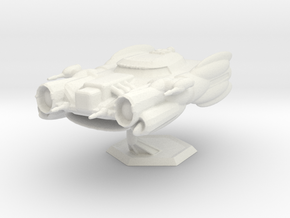 Star Sailers - Lumo Class - Astro Fighter in White Natural Versatile Plastic