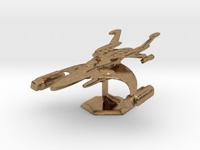 Star Sailers - Chase Class - Astro Fighter in Raw Brass