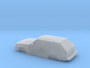 n scale 1980-1983 toyota corolla wagon in Smooth Fine Detail Plastic