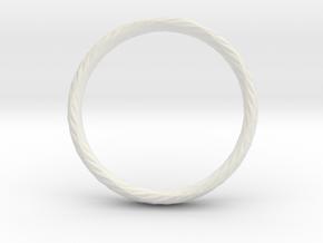 Twistium - Bracelet P=230mm h15 in White Natural Versatile Plastic