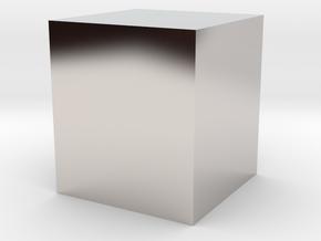 Status Symbol Paper Weight in Platinum