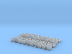 1:35 Bottles and Crates - 280 Bottles/10 crates in Smooth Fine Detail Plastic
