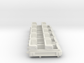Coaster5packhoSCALE+20% in White Natural Versatile Plastic