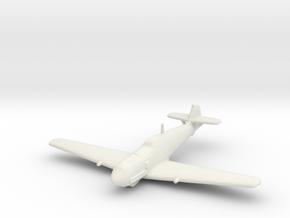 Messerschmitt Bf-109 T-1 in White Natural Versatile Plastic: 1:200