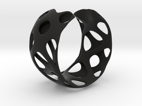 Bracelet 24-4-2016-1 in Black Natural Versatile Plastic