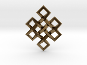 Endless Knot in Natural Bronze