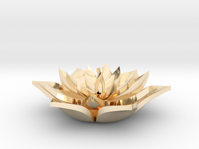 Full Lotus in 14K Yellow Gold