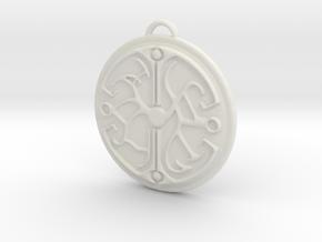 Dreamfall TLJ Balance Talisman in White Strong & Flexible