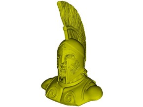 1/9 scale Leonidas I king of Sparta 480 BC bust in Smooth Fine Detail Plastic