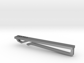 Tie Bar in Fine Detail Polished Silver