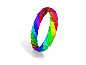Twistium - Bracelet P=200mm h15 Alpha in Smooth Fine Detail Plastic