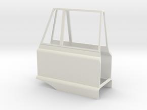 Mercedes Benz Unimog 406 doors 1/24 in White Natural Versatile Plastic