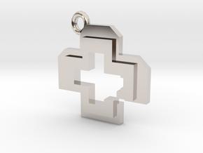 Health Pendant in Platinum