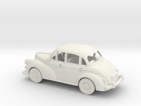 Morris Minor 1/64 1:64 Scale in White Natural Versatile Plastic